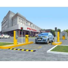 Парковка с реверсивным въездом-выездом