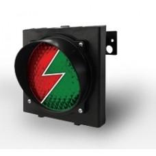 Светофор TRAFFICLIGHT-LED 230В (зеленый+красный)