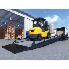 Мобильна рампа DoorHan:  длина 12 метров, нагрузка 7 тонн с опорой на кузов